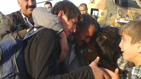 العراق: اليزيديون يفرون من جبل سنجار