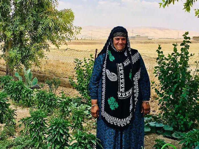 مزارعة عراقية