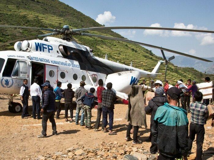 خدمات الأمم المتحدة للنقل الجوي للمساعدة الإنسانية