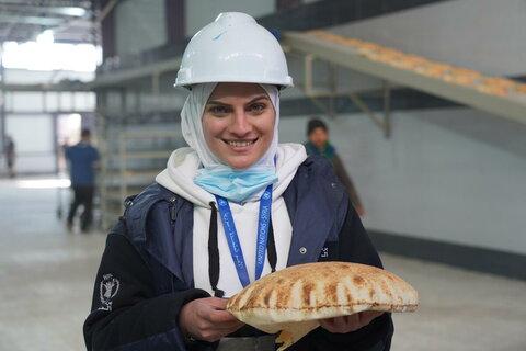 سوريا: مهندسة لدى برنامج الأغذية العالمي تساعد في إعادة تأهيل المخابز