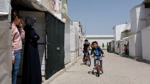 أسرة سورية تبدأ حياة جديدة في تركيا