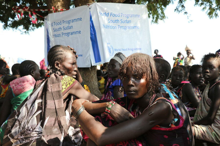South Sudan: Internally displaced people in Likuangole village, Pibor