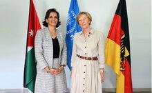 ألمانيا تزيد من دعمها لبرنامج الأغذية العالمي في الأردن