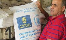 برنامج الأغذية العالمي يرحب بدعم جزيرة جران كناريا للاجئين الصحراويين