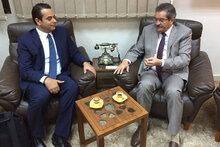 برنامج الأغذية العالمي يلتقي بعميد بلدية بنغازي في إطار توسيع نطاق دعمه لليبيا التي يمزقها الصراع