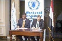 برنامج الأغذية العالمي يحتفل بمرور 50 عاماً على عمله في مصر ويطلق شراكة مع الحكومة لتبادل المعرفة