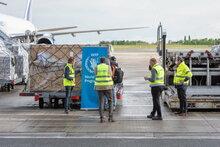 كوفيد-19: بدء أولى عمليات نقل المساعدات الإنسانية جواً إلى أفريقيا بإطلاقها من مركز الشحن الجديد التابع للأمم المتحدة في بلجيكا