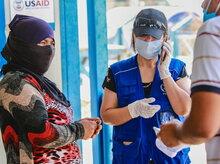 برنامج الأغذية العالمي يقدم المساعدة لآلاف الأسر المحتاجة في العراق بفضل الدعم المتواصل من الولايات المتحدة