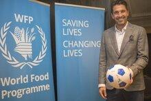 جيانلويجي بوفون سفيراً للنوايا الحسنة لدى برنامج الأغذية العالمي