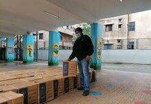برنامج الأغذية العالمي ووزارة التربية والتعليم العالي اللبنانية يقدمان المساعدات الغذائية في المدارس الحكومية
