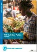 ملخص سياسة التغذية الخاصة ببرنامج الأغذية العالمي-2017
