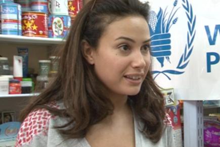 زيارة الفنانة هند صبري إلى نابلس