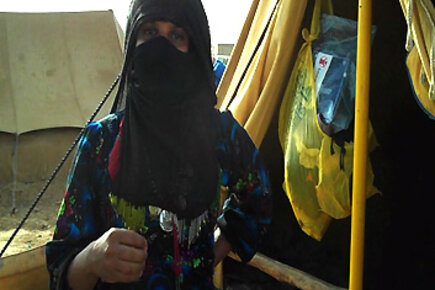 خوف النساء النازحات من العودة إلى ديارهن باليمن