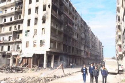 برنامج الأغذية العالمي يستجيب للاحتياجات الملحة لآلاف المتضررين من الأزمة في شرق حلب