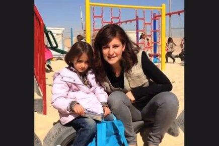 يوم في مخيم الزعتري