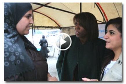 المدير التنفيذي لبرنامج الأغذية العالمي في زيارة إلى سورية