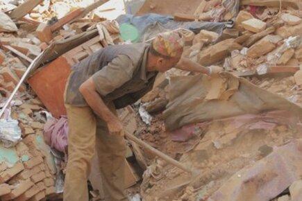 برنامج الأغذية العالمي في سباق مع الزمن في مواجهة زلزال نيبال