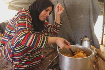 خفض المساعدات الغذائية يلقي بظلاله على حال اللاجئين السوريين في شهر رمضان