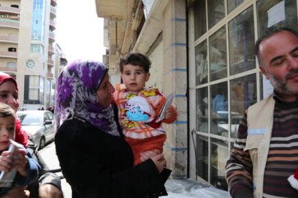 دولة الإمارات العربية المتحدة تدعم الشعب السوري