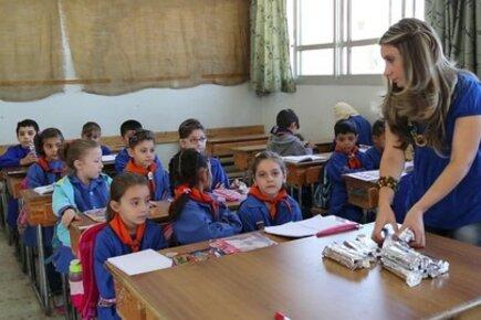 برنامج الأغذية العالمي يشكر المملكة العربية السعودية على دعمها لمشروع التغذية المدرسية في سوريا