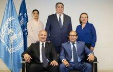 بيان صادر عن المدير التنفيذي لبرنامج الأغذية العالمي ديفيد بيزلي يرحب فيه بالرئيس الجديد للمجلس التنفيذي